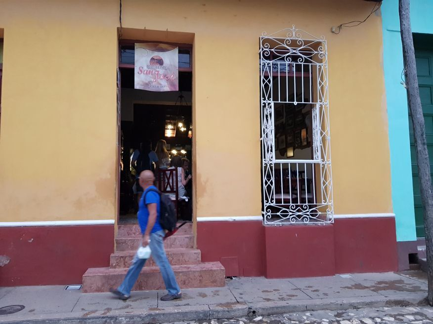 Front of San Jose Restaurant Trinidad Cuba