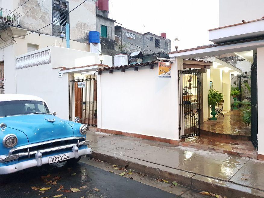 Front of Villa Maria Restaurant Cienfuegos Cuba
