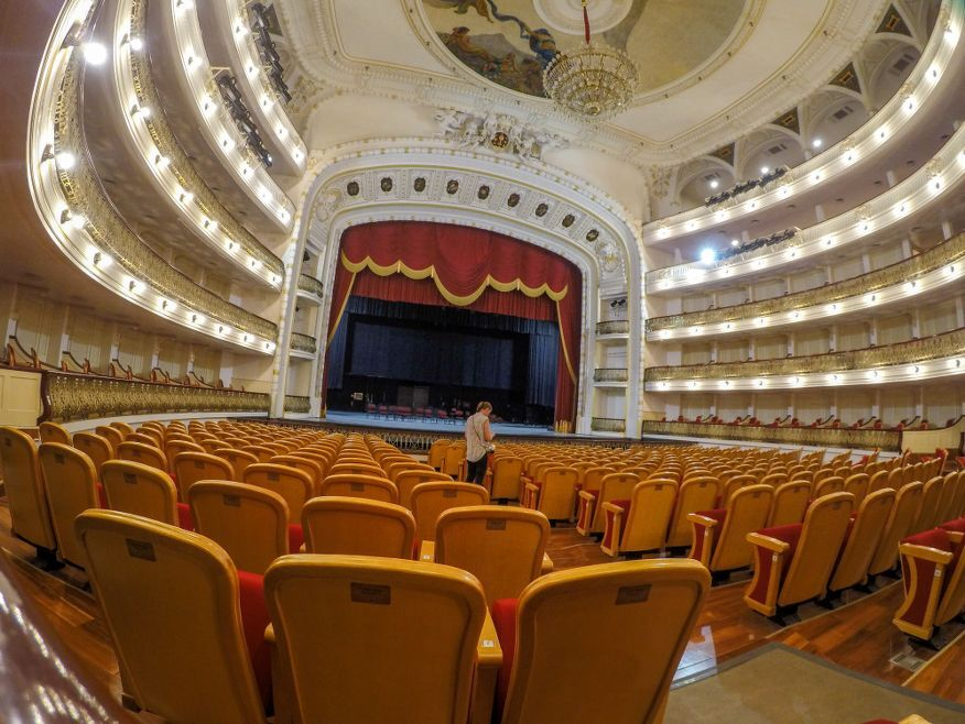 Grand Theatre Seating for Ballet