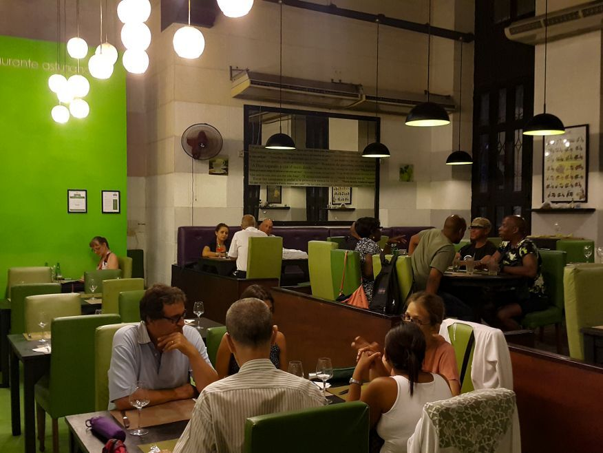 Inside La Xana Italian Restaurant