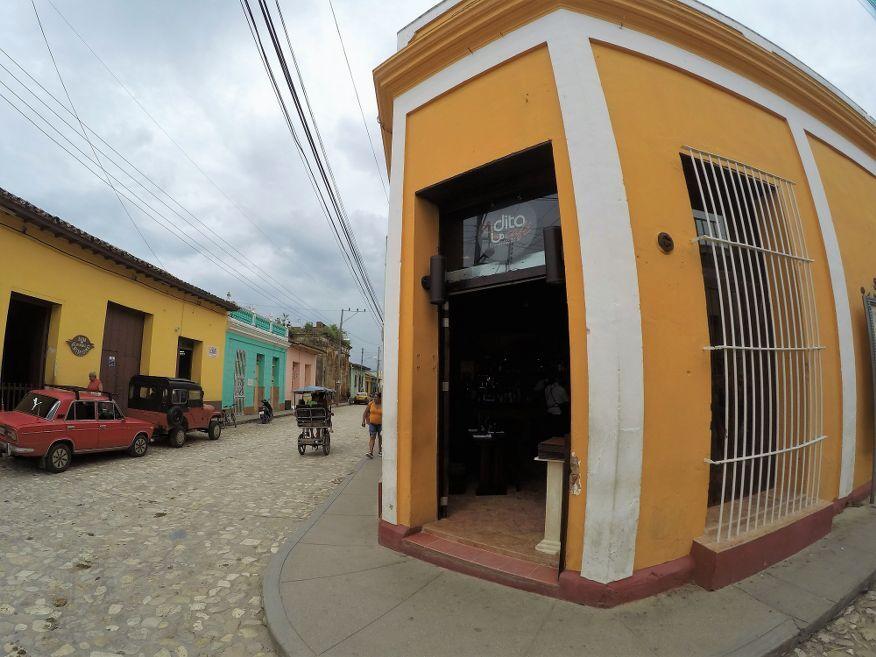 Outside Adita Restaurant Trinidad Cuba