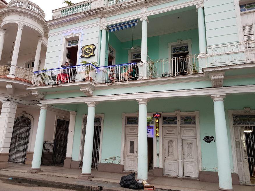 Outside of Dona Nora Restaurant Cienfuegos Cuba