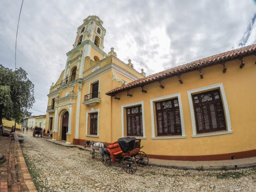 Outside the Museum Trinidad Cuba