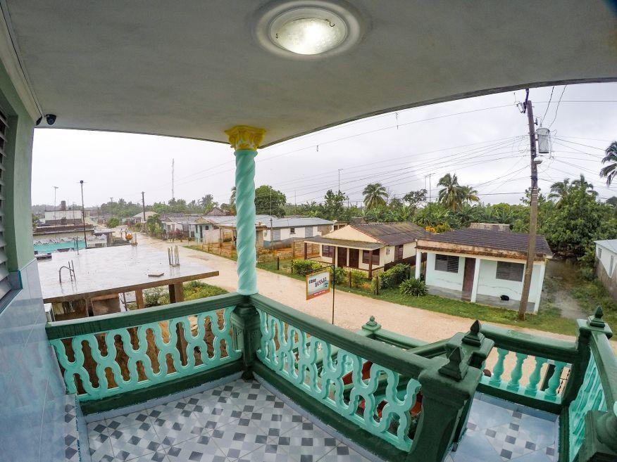 View from Casa Dussac Playa Larga Cuba