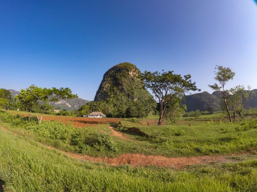 Views on the way to Cayo Jutias Beach from Vinales Cuba