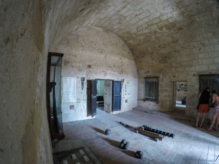 Inside Jagua Castle Cienfuegos Cuba
