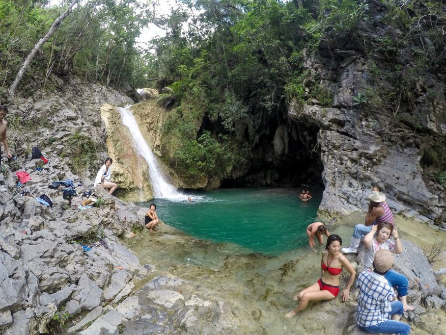 Top swimming hole Horse Ride Tour to Waterfalls Trinidad Cuba