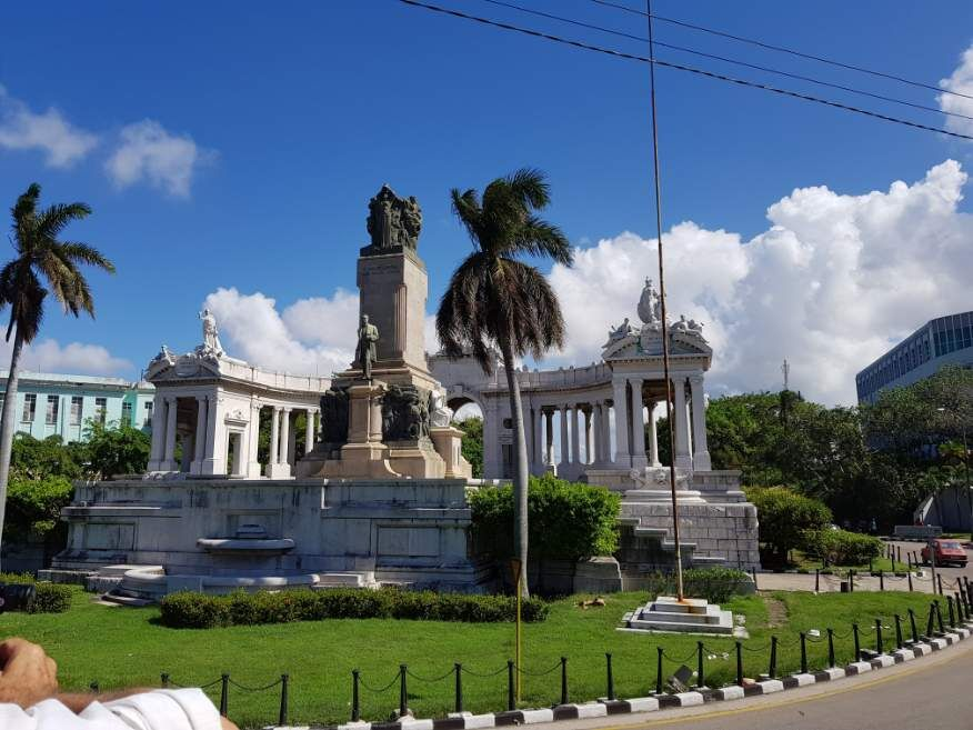 Habana Bus Tour - the Monument Jose Miguel Gomez