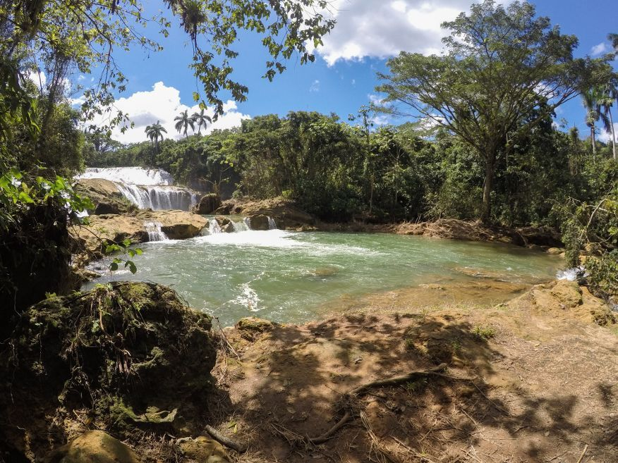 More great falls El Nicho Waterfalls Cienfuegos Cuba