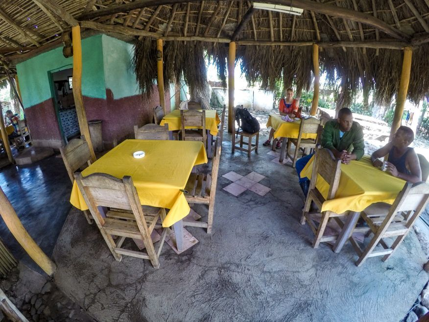 The restaurant stop Horse Ride Tour to Waterfalls Trinidad Cuba