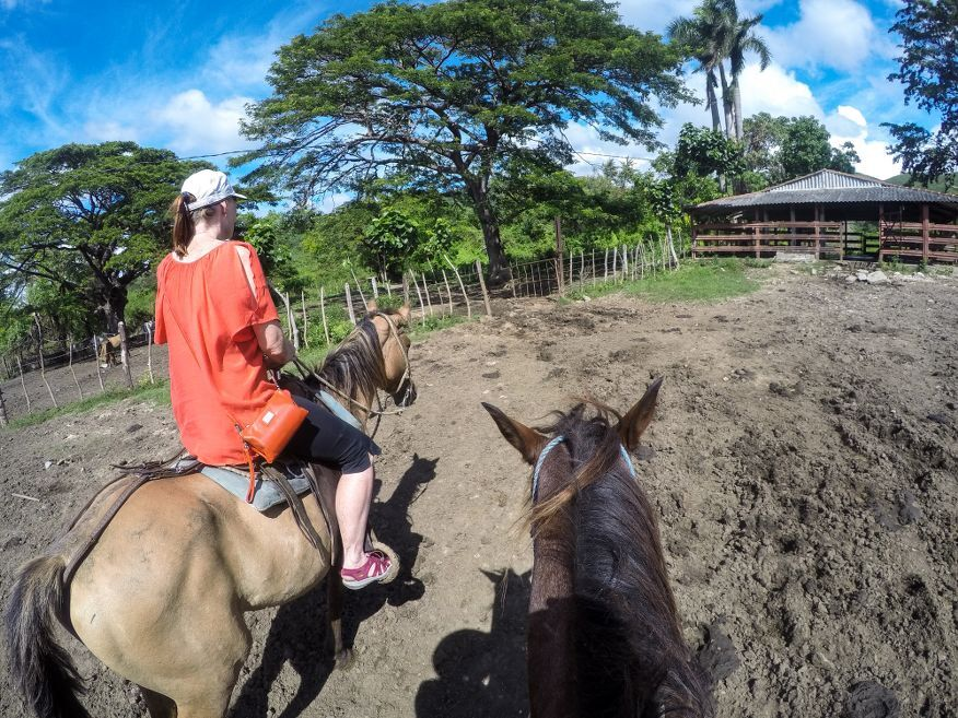 Horse Ride Tour to Waterfalls Trinidad Cuba