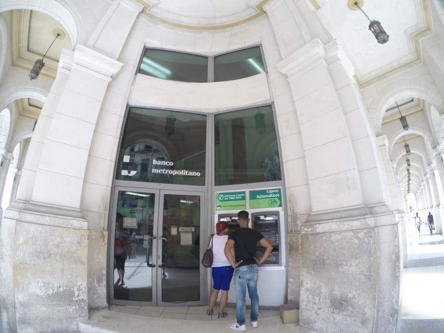 Bank in Havana Cuba