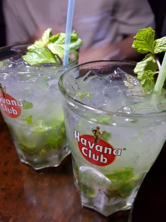 Best Mojito in Havana at El Chanchullero Restaurant Old Havana Cuba