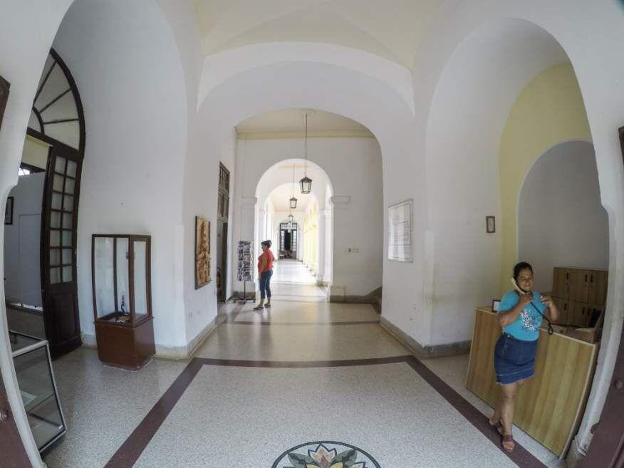 Entrance Museum Trinidad Cuba