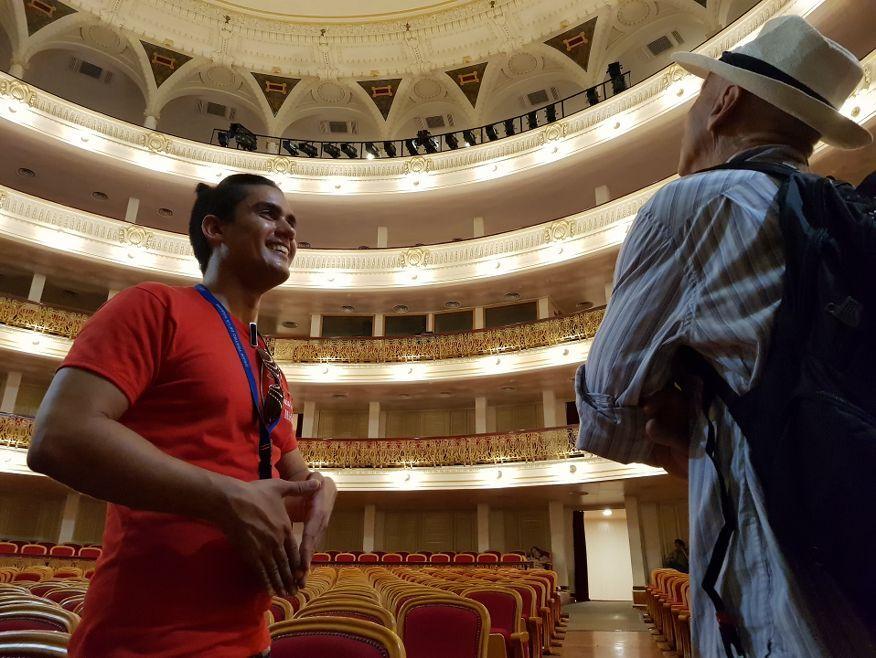 Grand Theatre Tour Guide