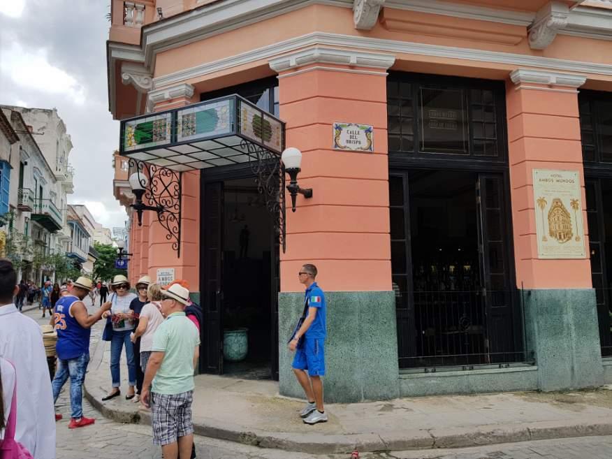 Hotel Ambos Mundos Obipso in Old Havana, Cuba