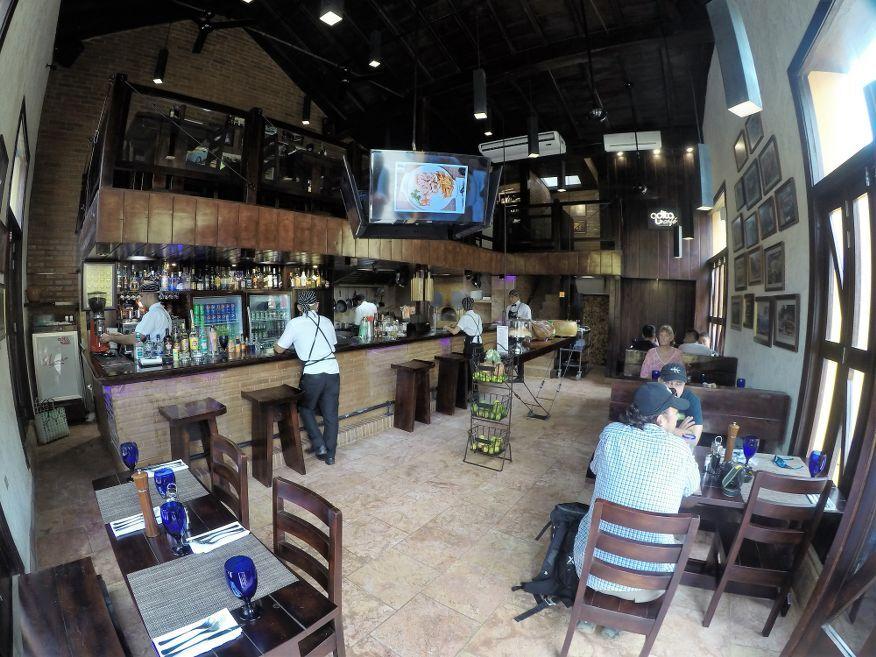 Inside Adita Restaurant Trinidad Cuba