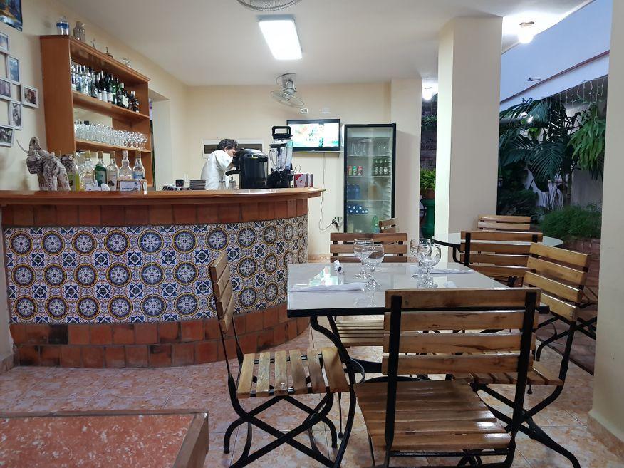 Inside Villa Maria Restaurant Cienfuegos Cuba