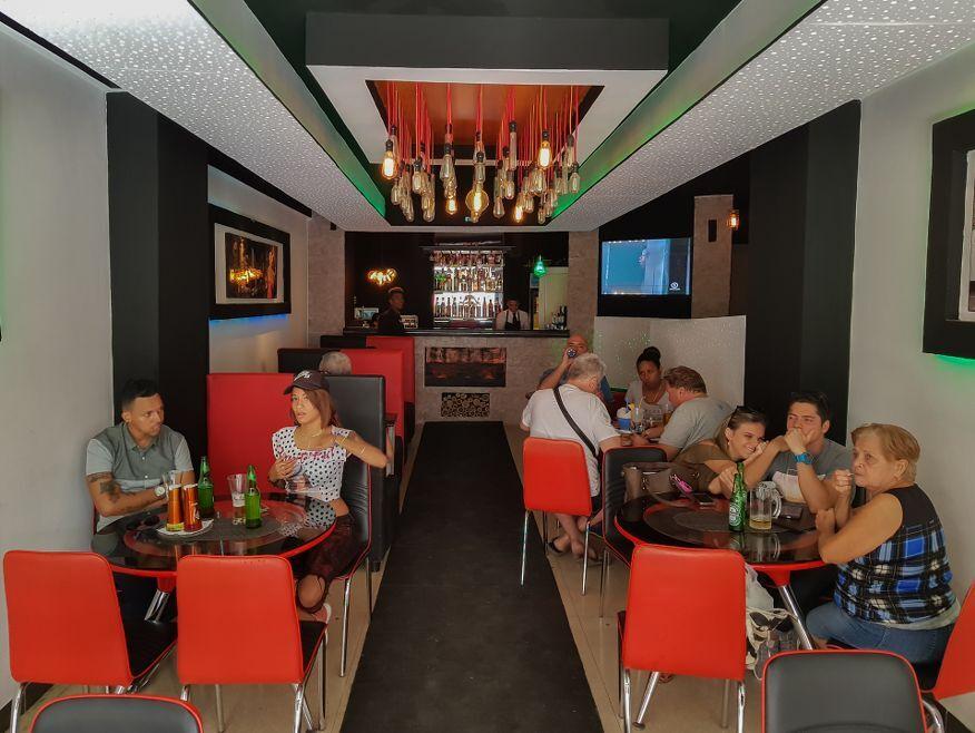 Inside la Bonita Restaurant Havana Cuba
