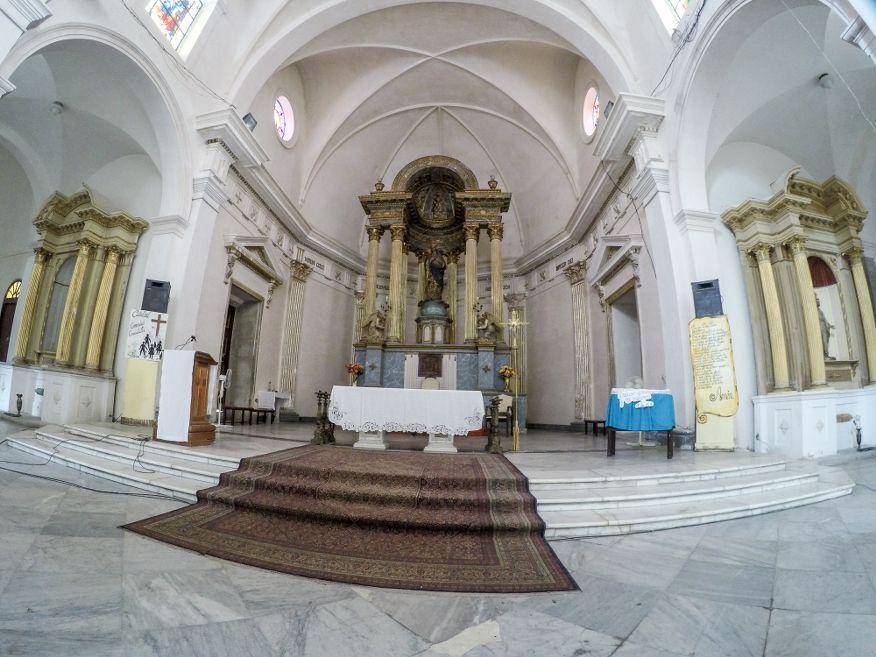 Inside the Catheral Cienfuegos Cuba