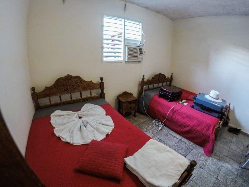 Our room at Casa Orula Chango Trinidad Cuba