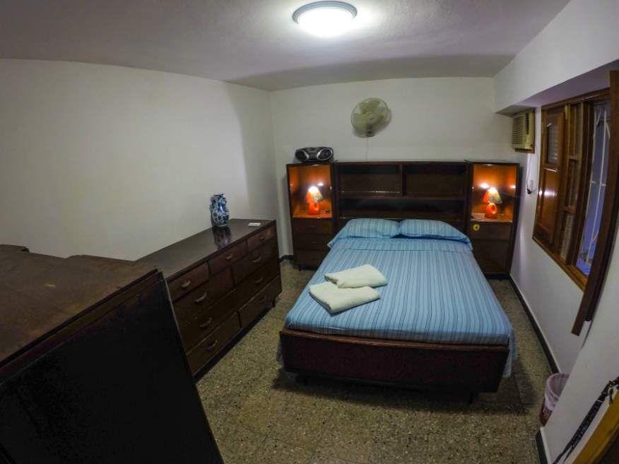 Second bedroom in in our Casa in Havana Cuba