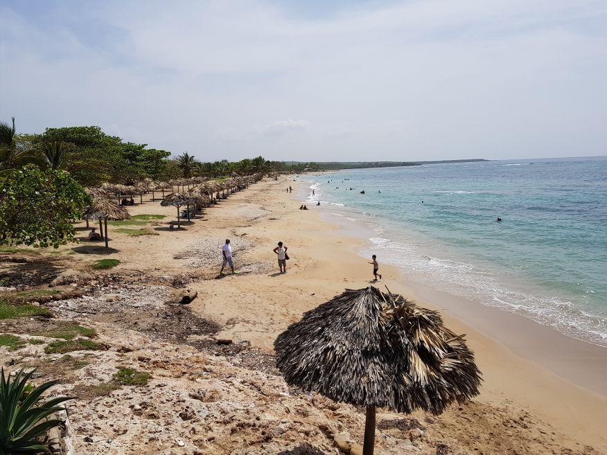 Views of Playa Rancho Luna Beach Cienfuegos Cuba