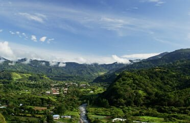 panama-chiriqui, boquete-mountain-town-view-from-above