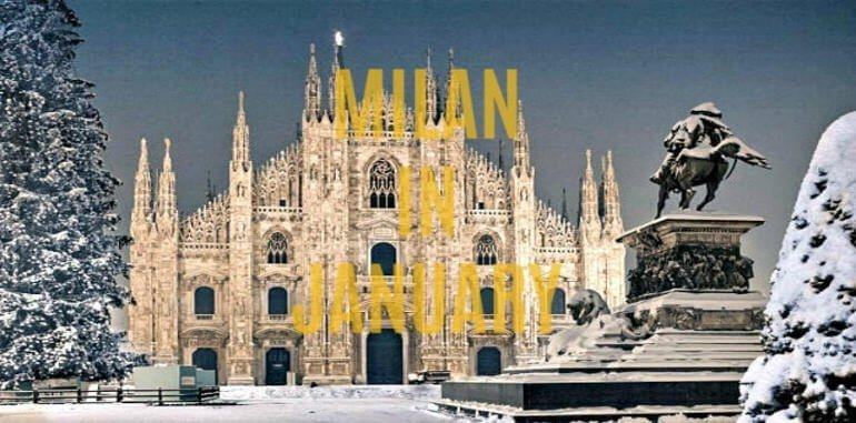 January in Milan