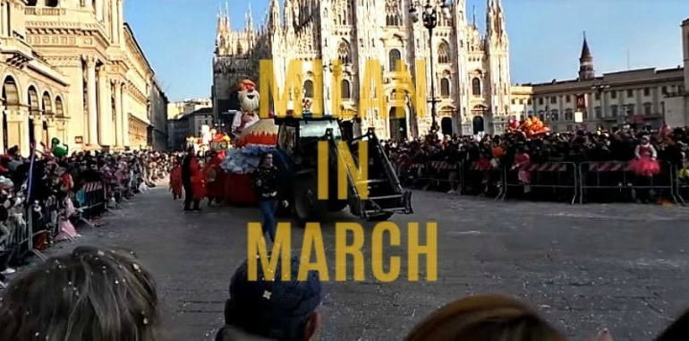 January in Milan