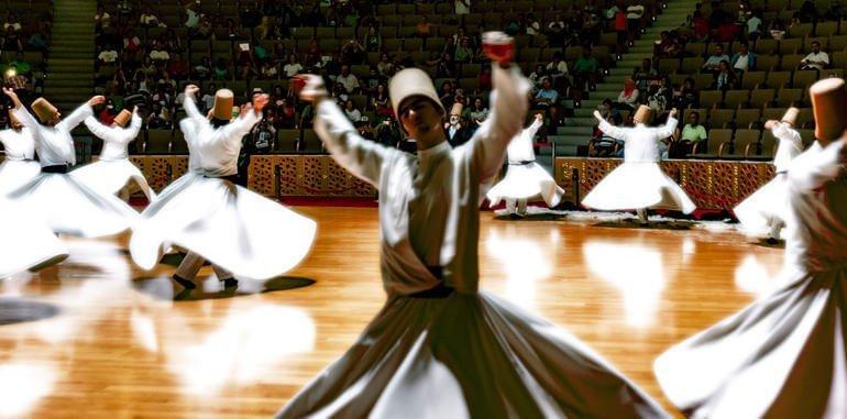 Whirling Dervishes in Konya