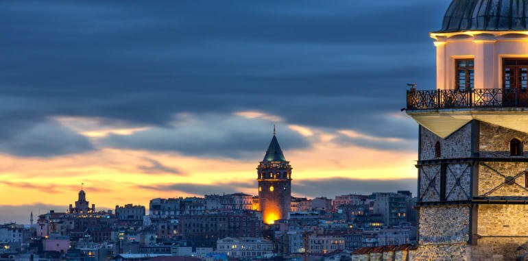Towers of Istanbul