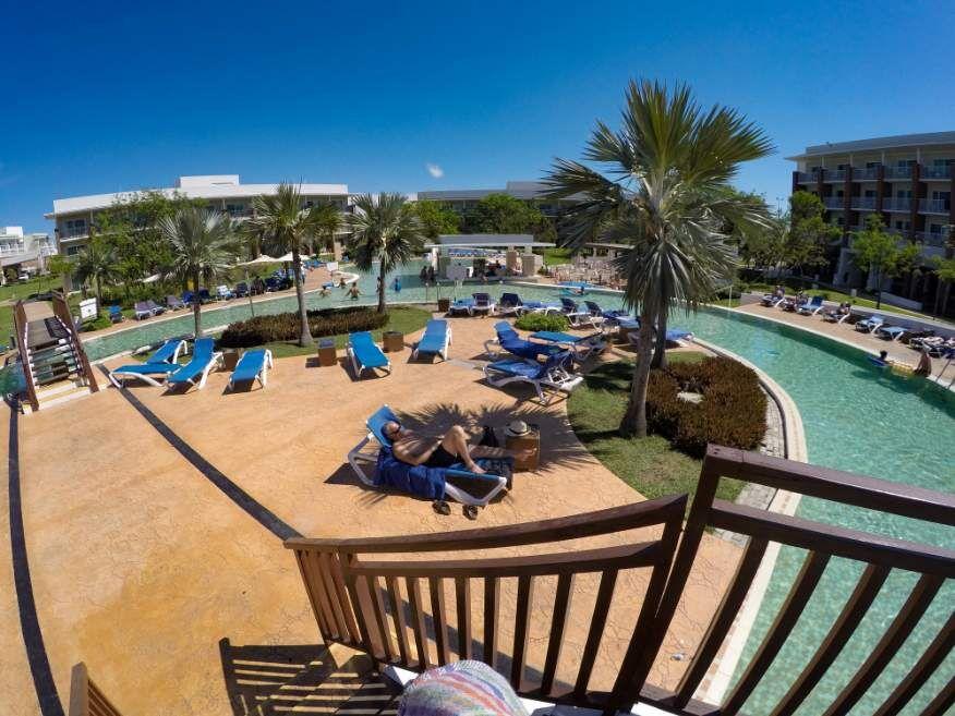 Pool at our hotel - Ocean Vista Azul in Varadero Cuba
