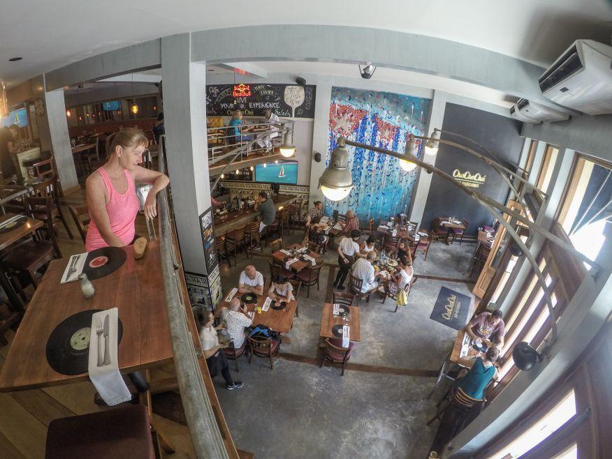 Inside Cha Cha Cha Restaurant Havana