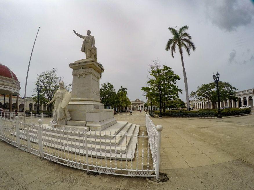 Jose Marti Monument Parque Marti Square Cienfuegos Cuba
