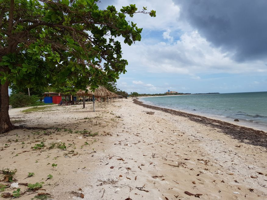 Just before Playa Ancon Beach Trinidad Cuba