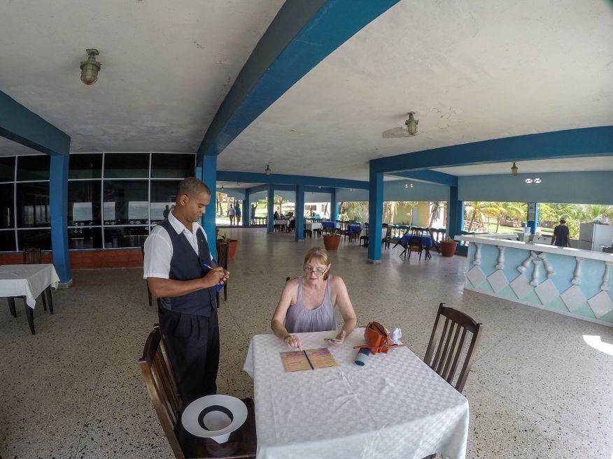Restaurant at Playa Rancho Luna Beach Cienfuegos Cuba