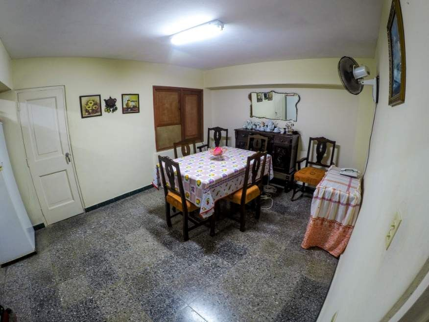 Dining room in our Casa in Havana Cuba