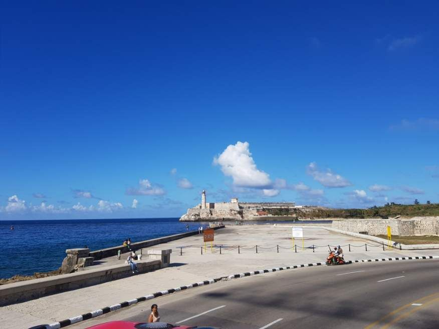 Habana Bus Tour - Views of El Morro Castle