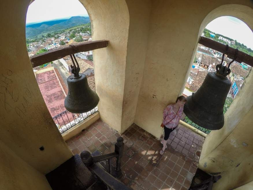 In the bell tower Museum Trinidad Cuba