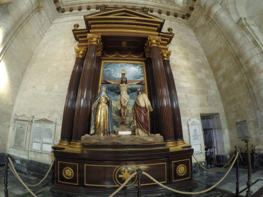 Inside San Cristobal Cathedral Havana Cuba