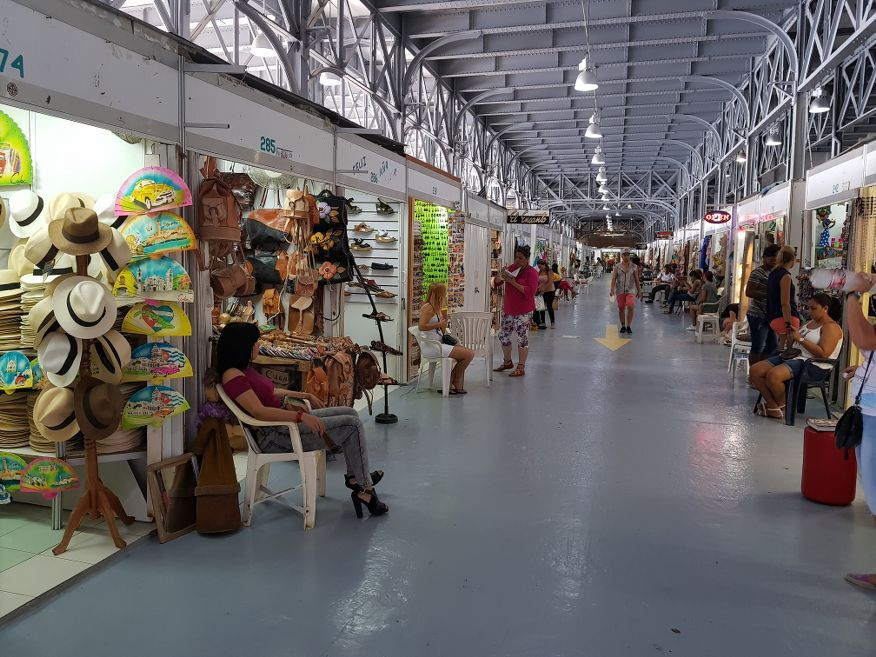 Plenty to choose from at the handicraft markets Havana Cuba
