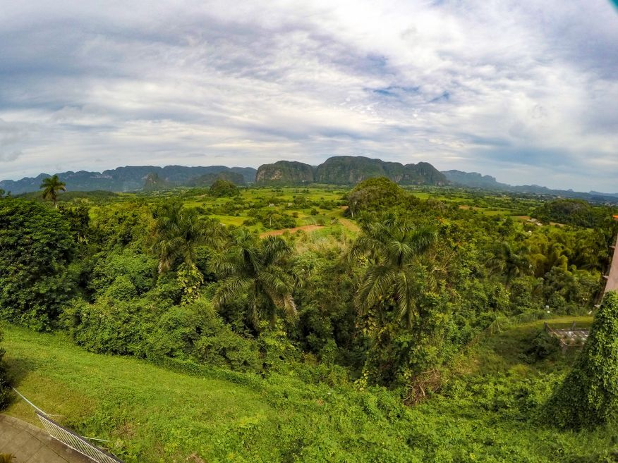 Views from Los Jazmines Hotel Vinales Cuba