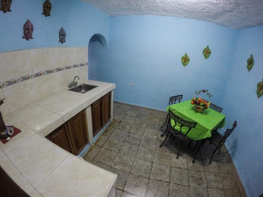 Shared dining area at Casa Orula Chango Trinidad Cuba