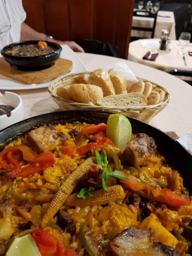 Paella Meat dish at El Rum Rum Restaurant Old Havana Cuba