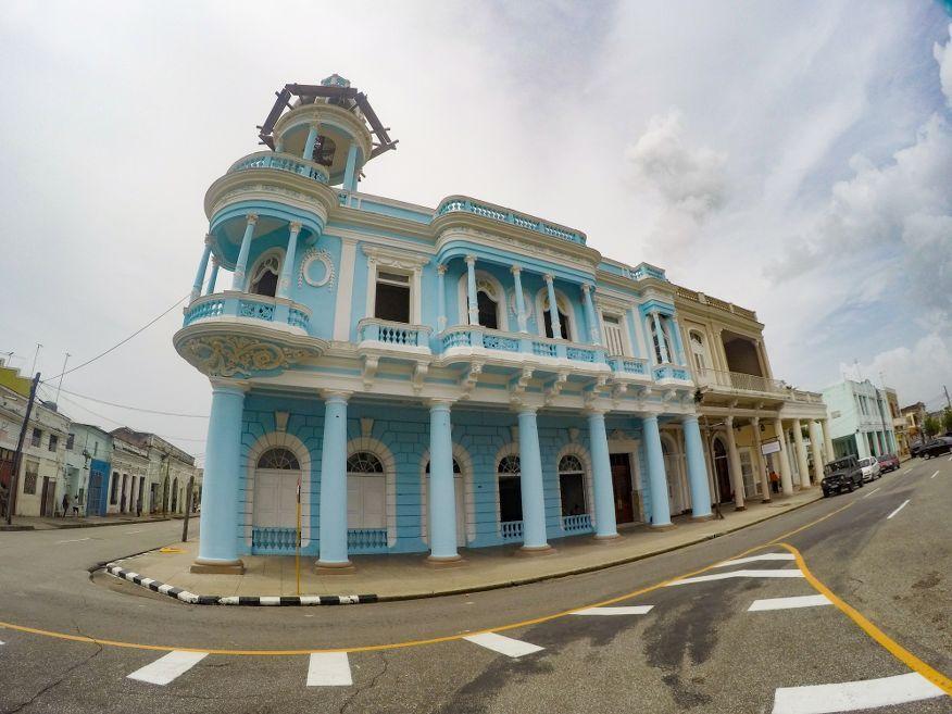 Palacio Ferrer Parque Marti Square Cienfuegos Cuba