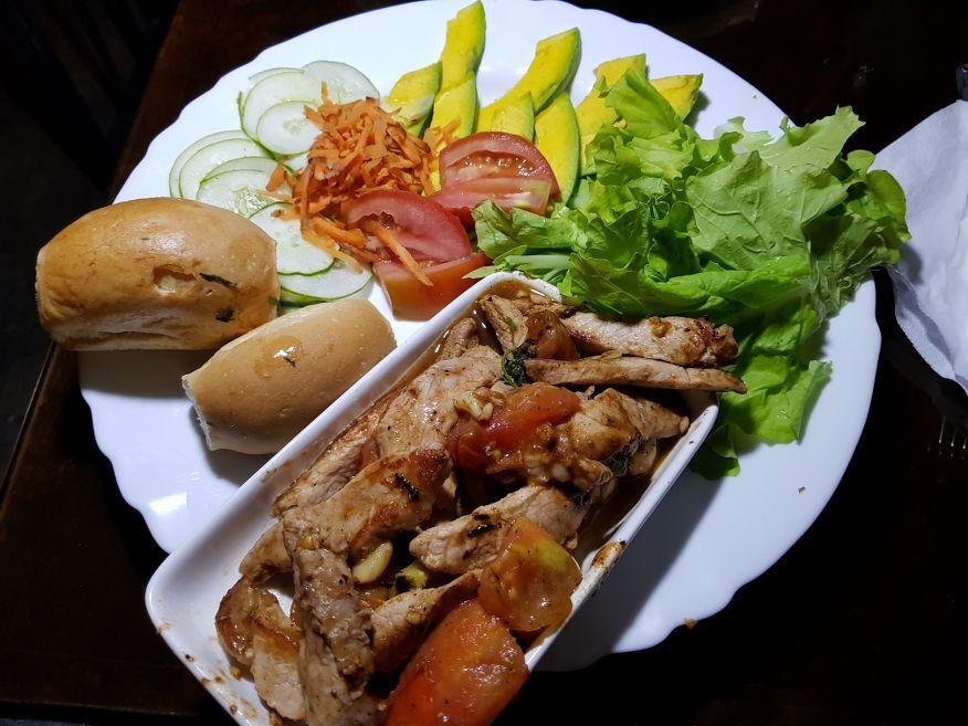 Pork in Tomato at El Chanchullero Restaurant Old Havana Cuba