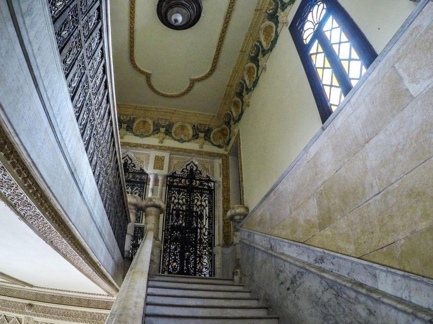 Stairway Palacio de Valle Cienfuegos Cuba
