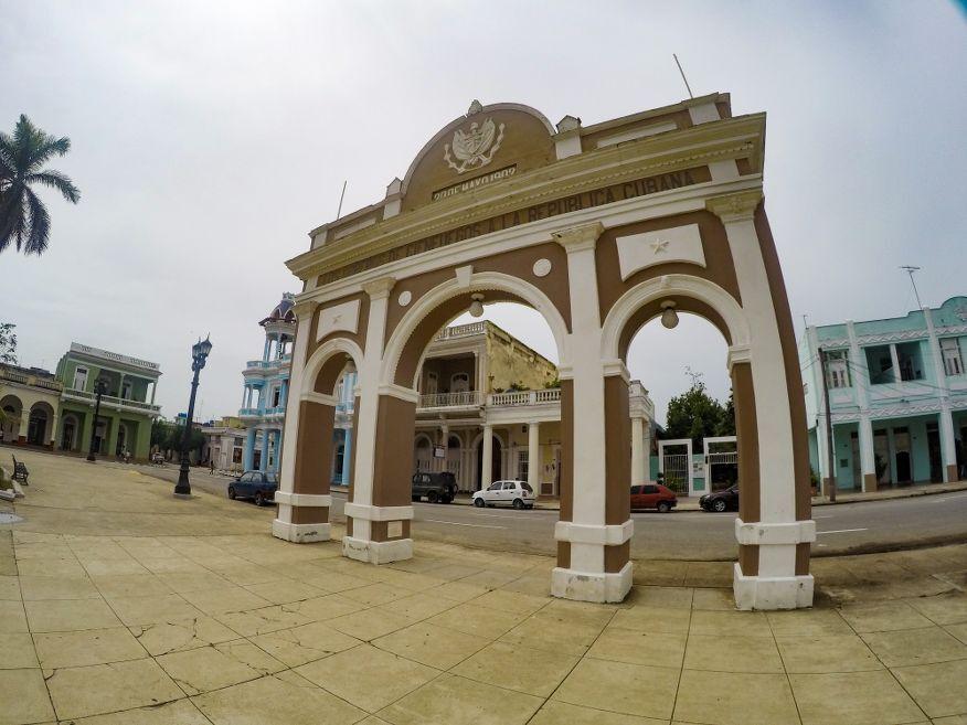 Arco de Triunfo 1902 Parque Marti Square Cienfuegos Cuba