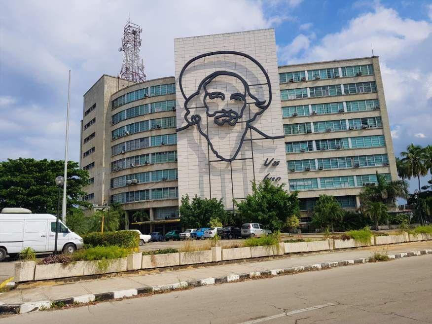 Jose Marti Monument Plaza de la Revolution Havana Cuba
